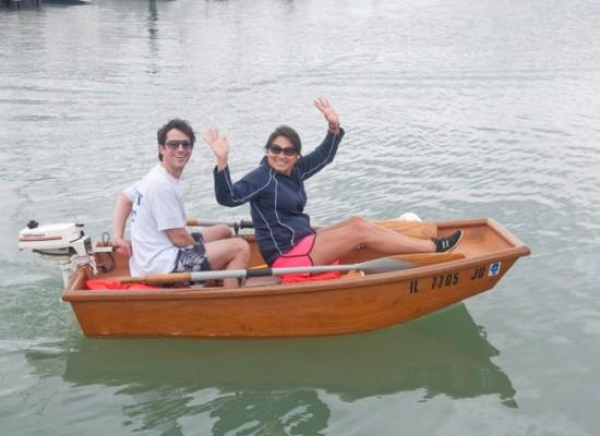 Boller-in-dinghy